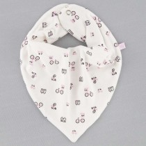 Babador Bandana Estampado Flower Bike